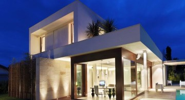two storeys amazing modern homes with pool