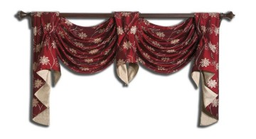 two swag valance patterns