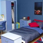 two toned blue boys blue room