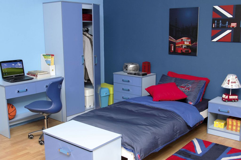 Gallery For Boys Blue Room Design Ideas