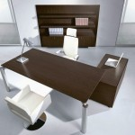 two toned minimalist office furniture