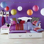 unique beds for girls with bubbles light and loft bedding