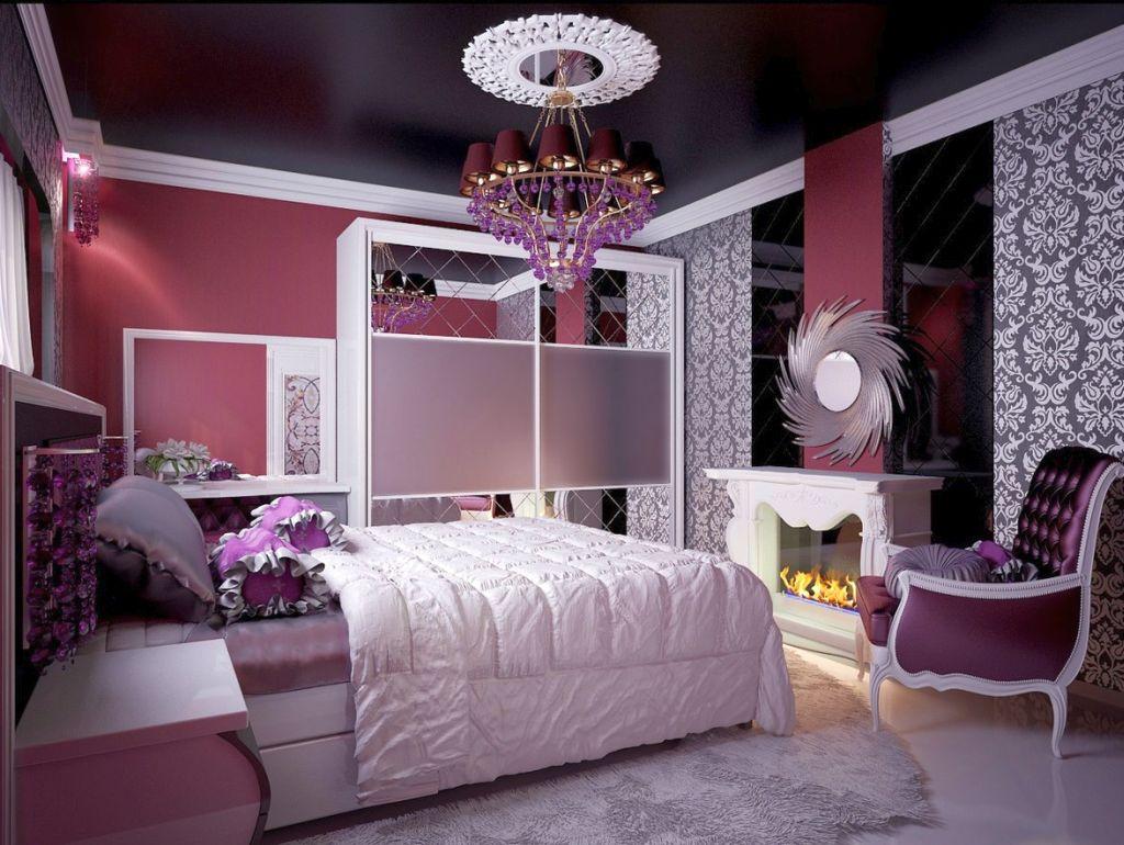 Модные комнаты для девушек фото