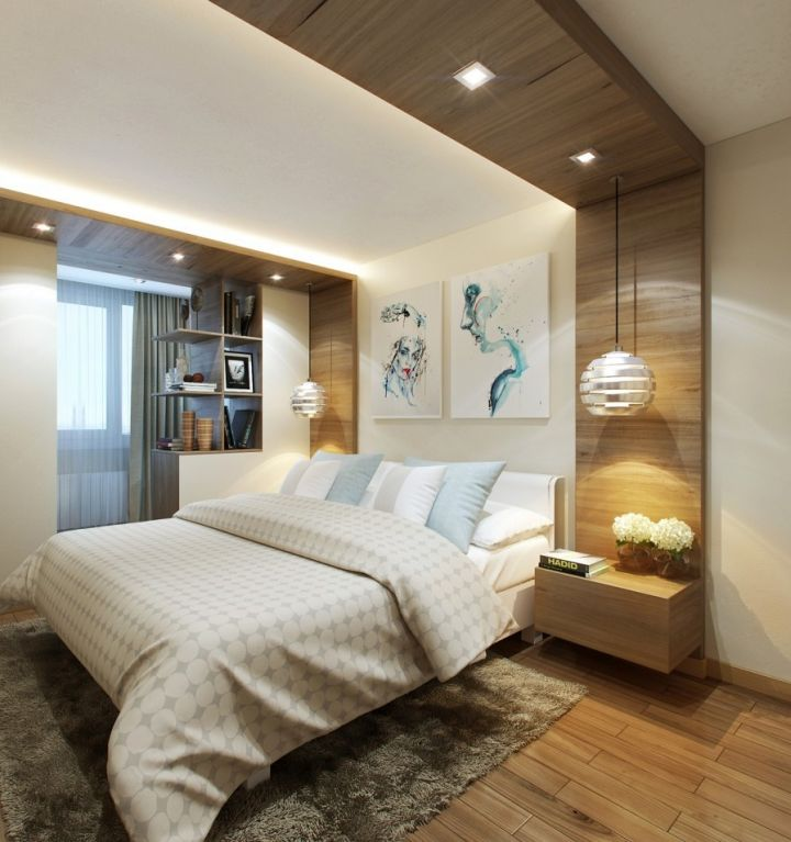 unique contemporary bedroom wall panel design ideas