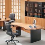 unique shaped desks for small office plans