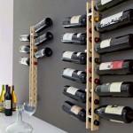 unique tower contemporary wine cabinet