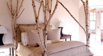 unique tree branch bed