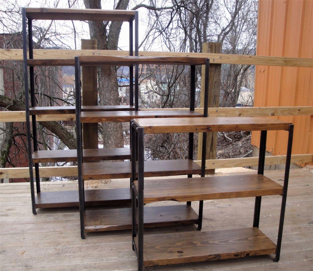 Metal And Wood Bookshelves | Home SH