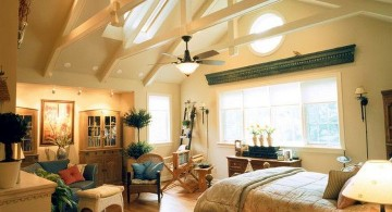 vaulted ceilings for bedrooms