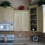 vertical stripes ideas for cabinet doors
