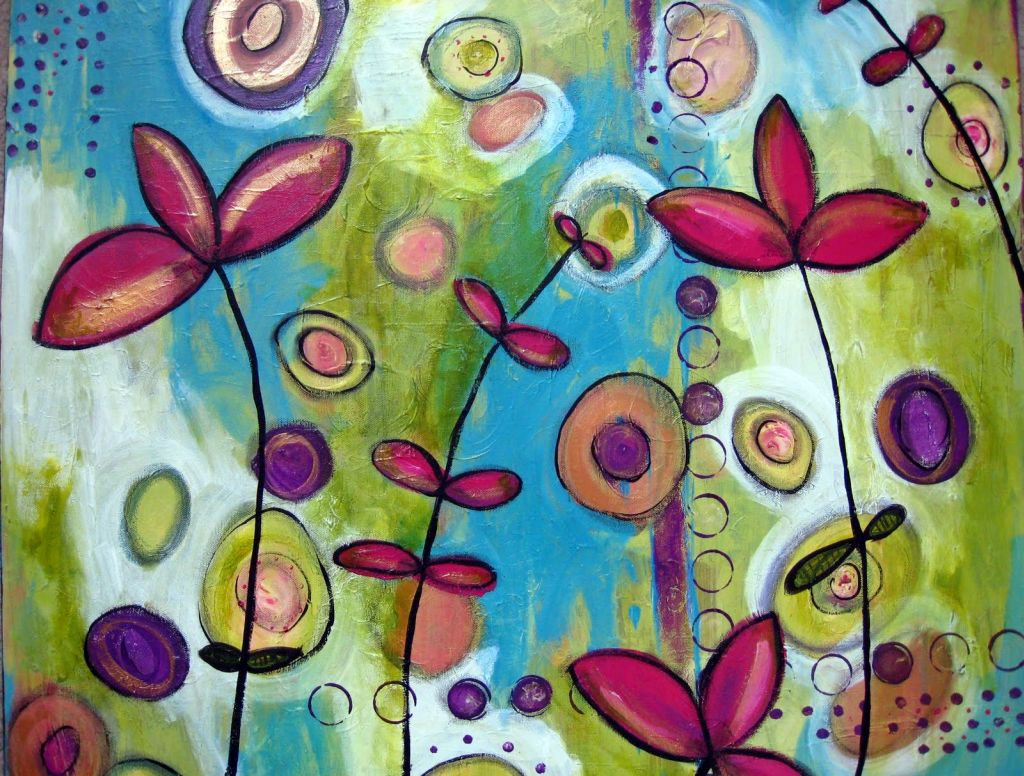 Canvas Design Ideas 6 wall art photo design ideas from the booth to the wall Very Cute Flowers Simple Painting Ideas Canvas