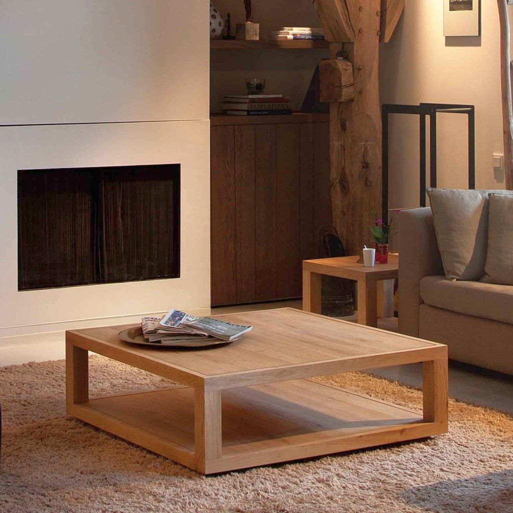 20 Fabulous Wood Coffee Table Designs By Genius