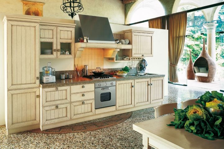 vintage and retro kitchen design for small kitchens