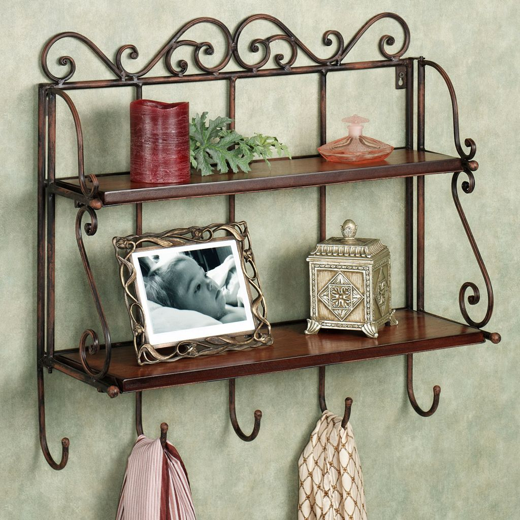 20 Neat Floating Shelf Decorating Ideas
