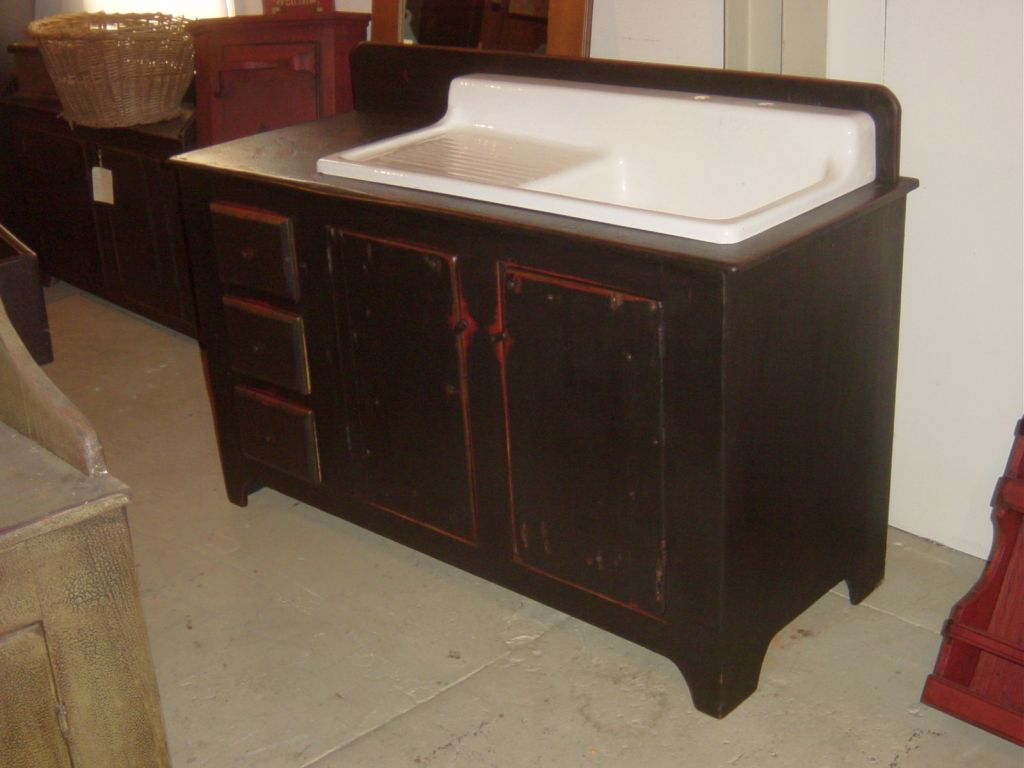 Vintage Kitchen Sink Cabinet ▻ kitchen sink : mindfulness vintage kitchen sink traditional