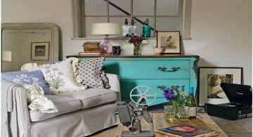 vintage living room ideas for small space