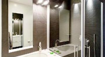 vintage looking black bathrooms ideas