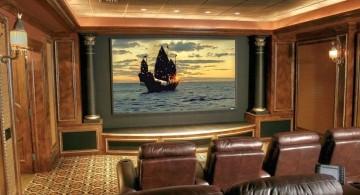 vintage style entertainment room
