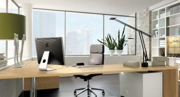 wall mounted sleek office desk