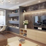 wall shelving units for living room with plasma TV