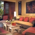 warm and cozy retro living room ideas