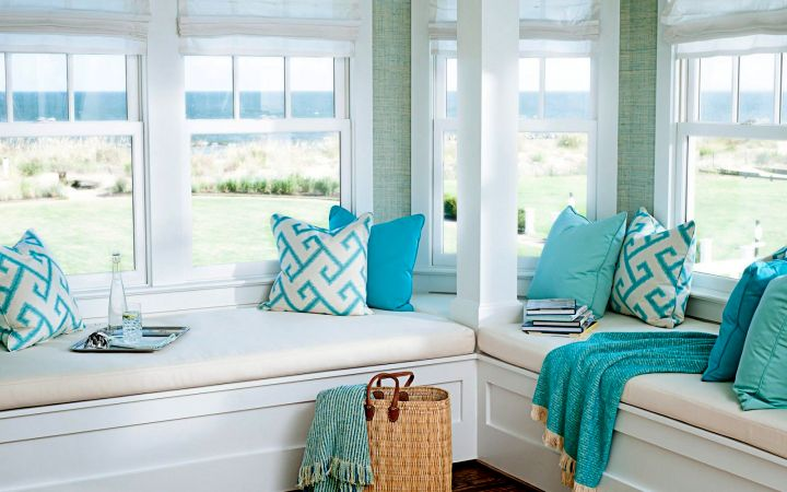 17 breathtaking turquoise living room ideas for Turquoise and white living room ideas