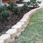 white stones for flower beds