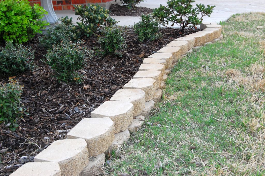 White stones for flower beds mightylinksfo