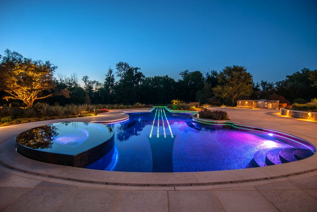 gallery for pool shapes and designs