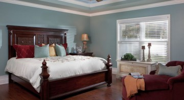 wide tray ceiling bedroom