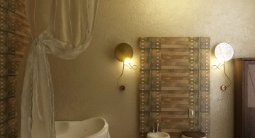 wooden bathroom designs for small space
