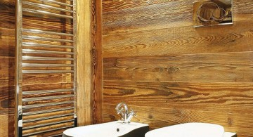 wooden bathroom designs with contemporary furniture