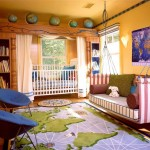 world map cool painting ideas for bedrooms
