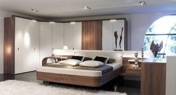 zen bedroom ideas with built in closet