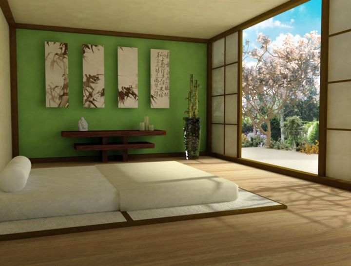 18 easy zen bedroom ideas to implement for Zen office design ideas