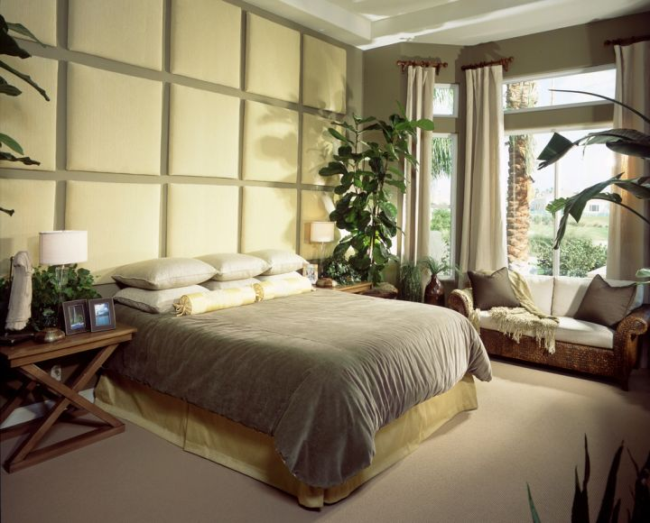 zen inspired bedroom wall panel design ideas
