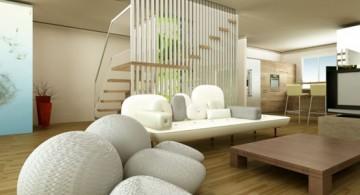 zen living room ideas for basement living rooms