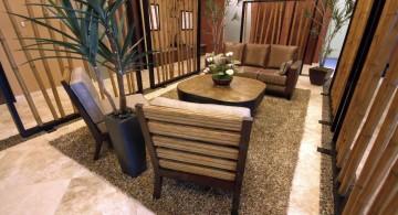 zen living room ideas for narrow spaces