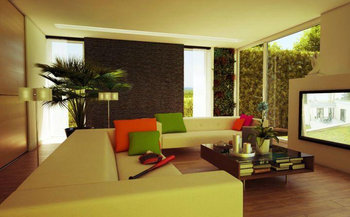 Zen Living Room Modern House