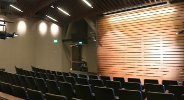 49ers Museum auditorium