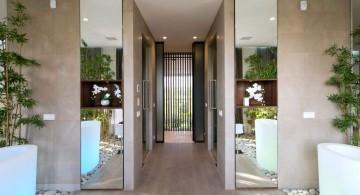 Agalarov Estate bathroom hallway