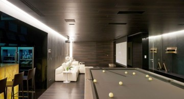 Agalarov Estate game room