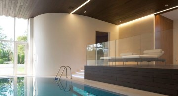 Agalarov Estate indoor pool and patio