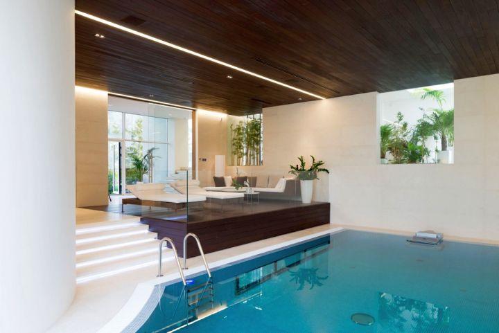 Agalarov Estate indoor pool