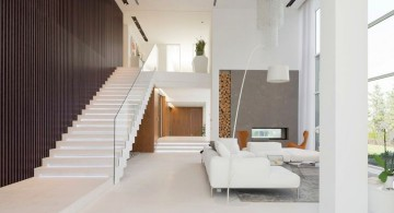Agalarov Estate main living room and stairs