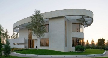 Agalarov Estate side view