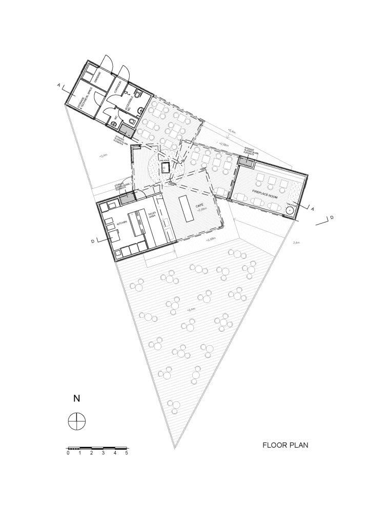 Cafe Birgitta floor plan