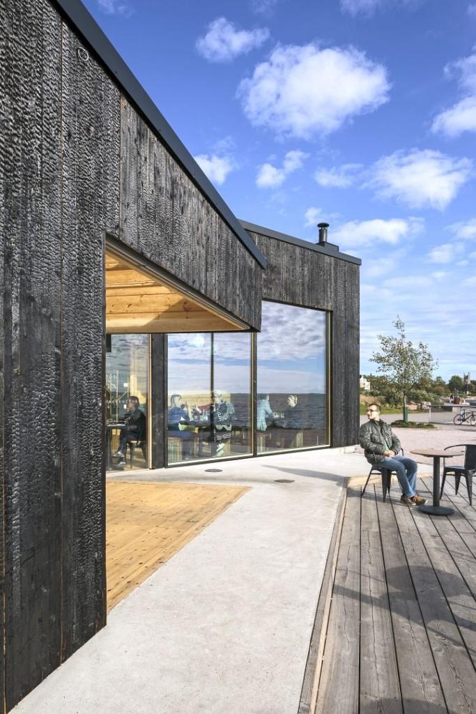 Cafe Birgitta side view