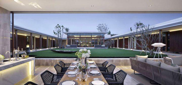 Chenglu Villa house ten central garden
