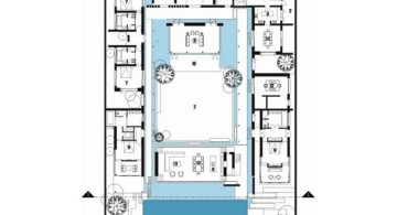 Chenglu Villa house ten first floor plan